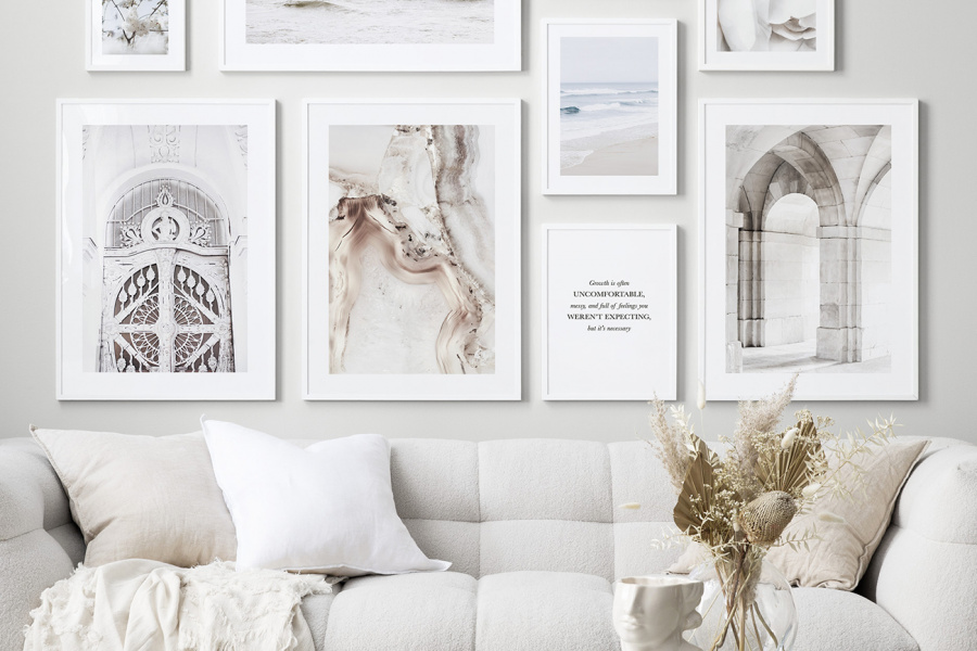Get the look: Serene Spaces