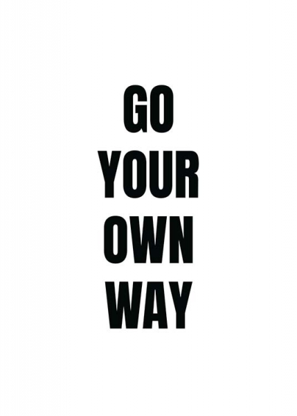 Your Own Way Poster