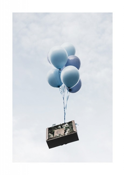 Balloon Delivery Poster