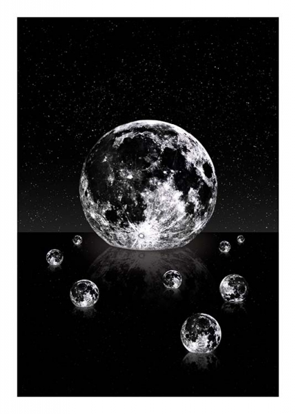 Moon Reflections Poster i gruppen posters / Barntavlor hos Desenio AB (3866)