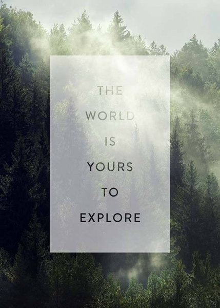 Yours To Explore Poster